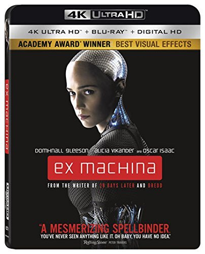 Ex Machina [4K Ultra HD + Blu-ray + Digital, 2016]
