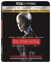 Ex Machina [4K Ultra HD + Blu-ray + Digital, 2016]
