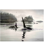 The Orcas  (A Limited Edition )  by Don Li-Leger - $95.00