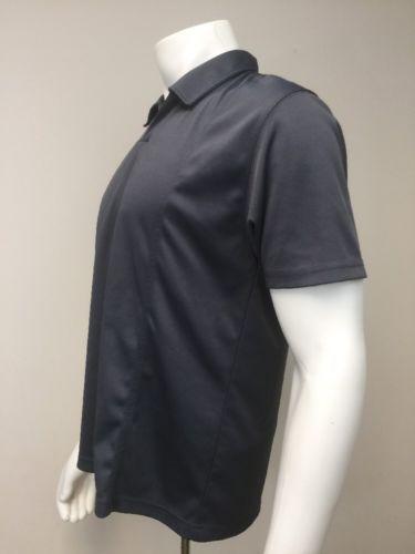 Bogari Pullover Short Sleeve Polo Shirt Gray Men M Medium