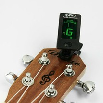 Chromatic Clip On Digital Tuner For Acoustic Electric Guitar Bass Violin... - $6.00