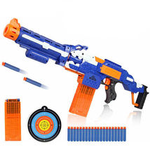 Toy Gun Soft Bullet Electric Rifle Water Nerf Sniper Weapon Plastic Bull... - $109.90