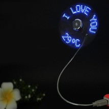 Centechia Top Mini USB Fan Gadgets Flexible Gooseneck LED Light USB Cool... - $3.95