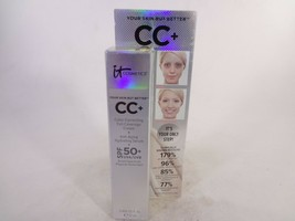 It Cosmetics CC+ Color Correcting Full Coverage Cream SPF 50+ 0.406 fl oz [HB-I] - $14.03