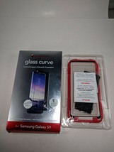 ZAGG Invisible Shield Glass Curve Elite Screen Protector Samsung GalaxyS9 used - $8.59