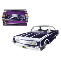 1960 Ford Starliner Purple Outlaws 1/26 Diecast Model Car by Maisto 3103... - $32.30
