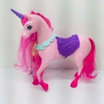 Barbie Mattel Dreamtopia Pink Unicorn Horse 2005 Model  - $23.76