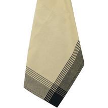 "Dunroven House Striped Mccleod Tea Towel 20""x28""-tea Dye & Black - $8.39"