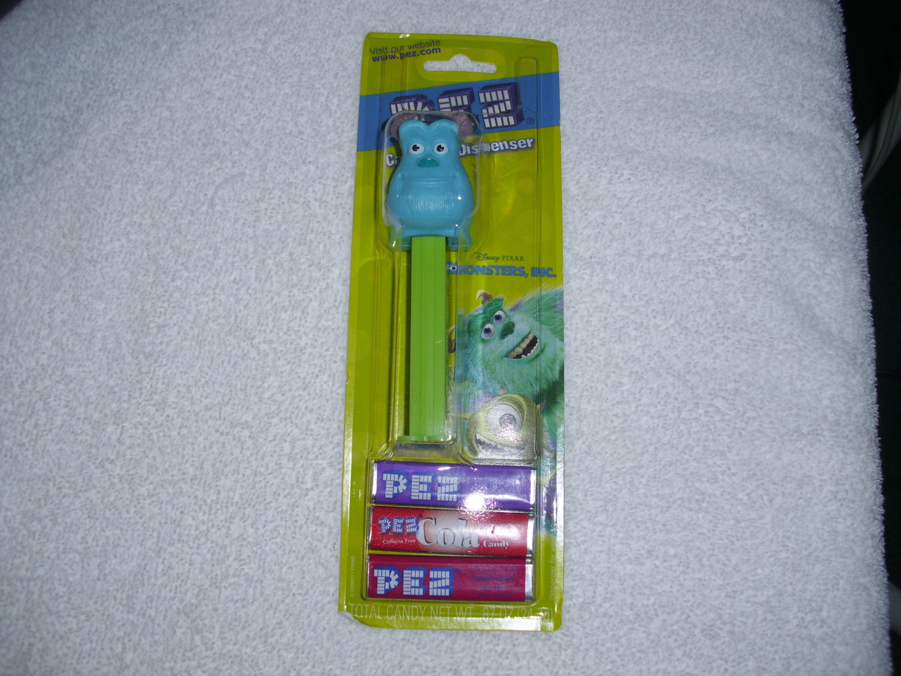 "Monsters, Inc. (James P. ""Sulley"" Sullivan) Pez Candy Dispenser"
