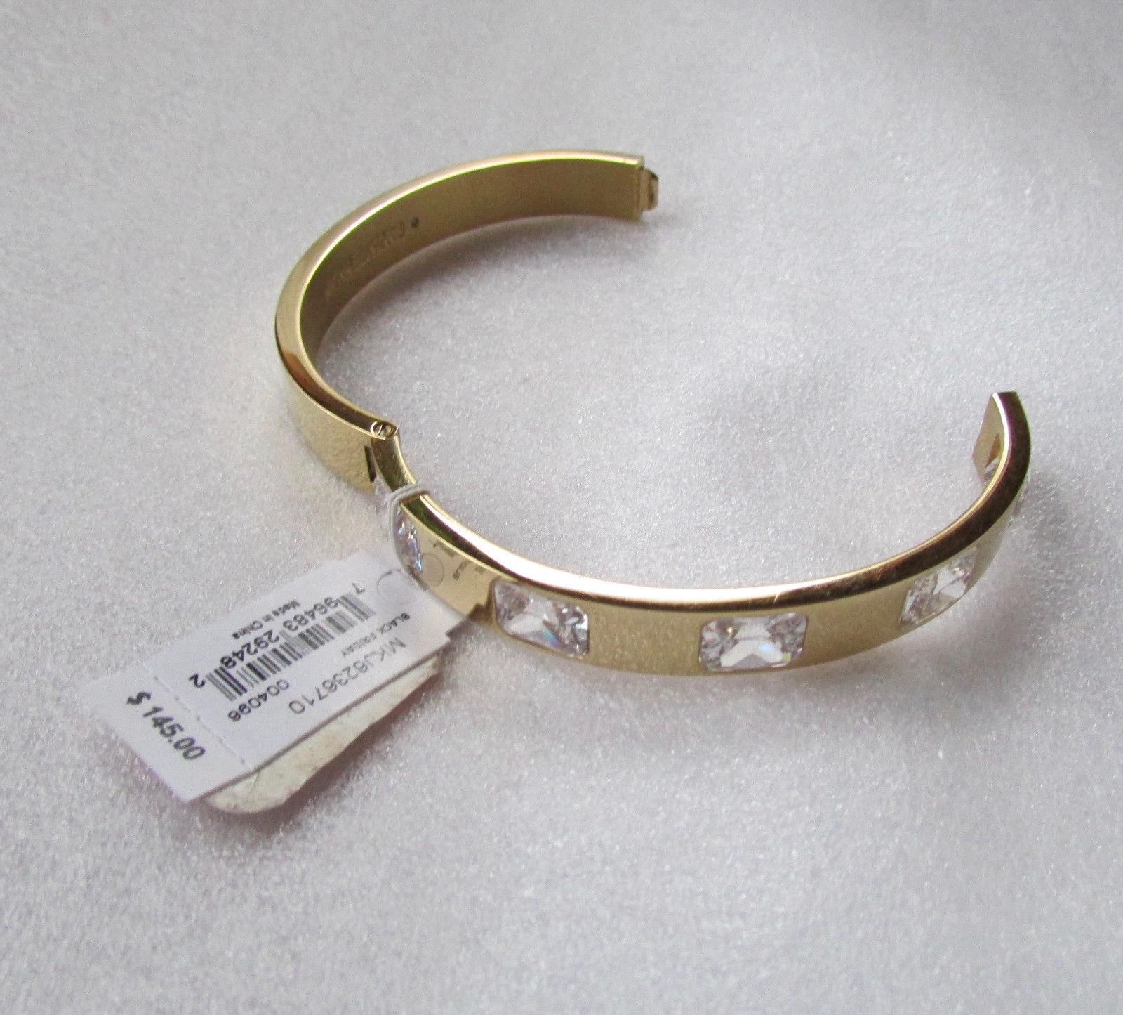 4cb95bd82c7723 Michael Kors Bracelet Emerald Cut Crystal and 50 similar items