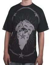 Crooks & Castles Men's Black Thuxury Bandito Medusa T-Shirt I1360707 NWT