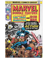 Marvel Double Feature Comic Book #10 Marvel Comics 1975 VERY FINE/NEAR MINT - $10.69