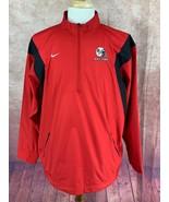 Ball State Footballl Nike  Fit Storm 1/2 Zip Pullover Windbreaker Jacket... - $35.63