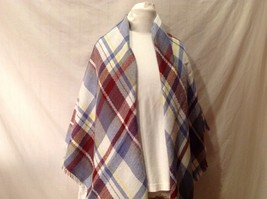 Scottish Tartan Plaid Blanket Scarf NEW in packaging Soft Comfy Viscose fiber