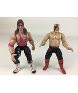 WWF Wrestling Bret The Hitman Hart Hawk Action Figure Jakks Titan Sport ... - $19.75