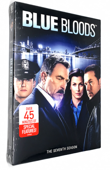 Blue Bloods The Complete Seventh Season 7 DVD Box Set 6 Disc Free Shipping