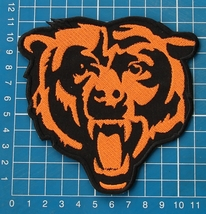 "CHICAGO BEARS NFL FOOTBALL 4.5"" JERSEY PATCH EMBROIDERED - $18.00"