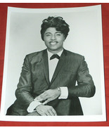 "8X10"" B&W Photo Music Legend Little Richard Dressed Up in Suit & Bow-tie... - $24.74"