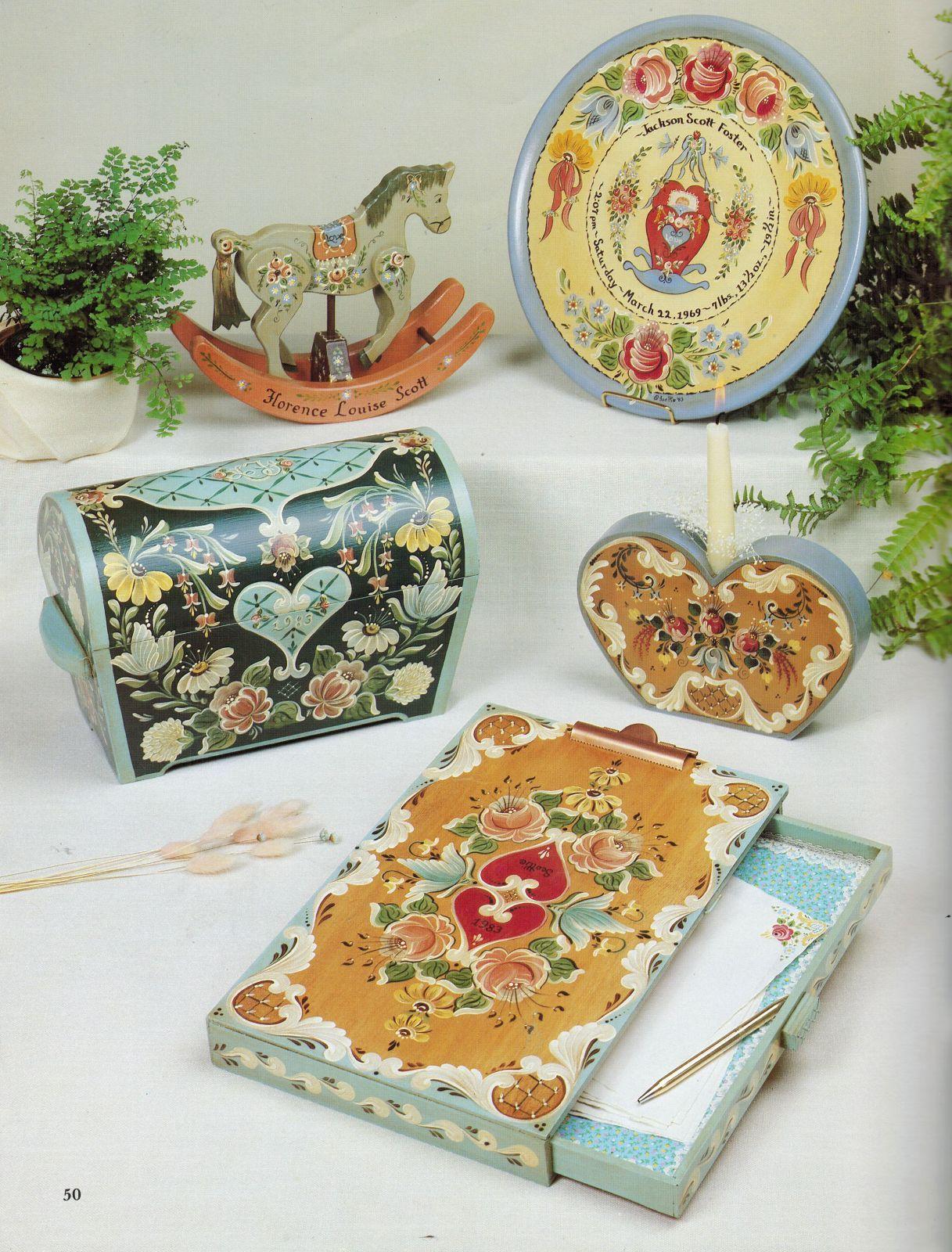 Tole Decorative Painting Scottie's Guide To Bauernmalerei Bavarian Folk Art Book