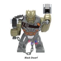 Black Dwarf Cull Obsidian Minifigures Marvel Avengers Infinity War Lego Block - $3.99