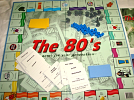 The 80's Board Game - £13.84 GBP