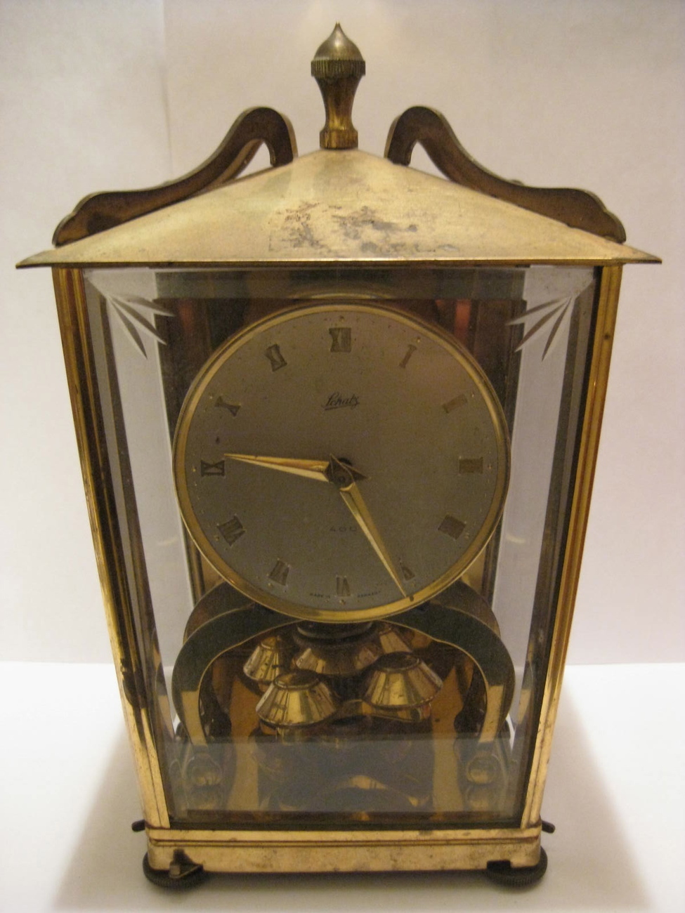 Primary image for Clock - SCHATZ 400 - Vintage 1950s Table Clock