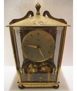 Clock - SCHATZ 400 - Vintage 1950s Table Clock - $80.00
