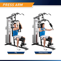 Marcy Pro MWM-988 Gym System 150 lbs Adjustable Weight Stack - Ready to Ship image 3