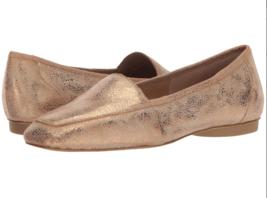 Donald Pliner Deedee Bronze Metallic Brush Off Flats, Size 6 M - $59.39