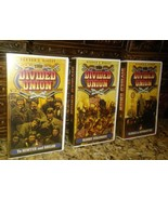 1988 THE DIVIDED UNION by READERS DIGEST 3 VHS Tapes. (Civil War Series) - $14.60