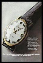 TIMEX Watch AD 1969 Electronic Timex Never Needs Winding Advertising Print AD - $14.99