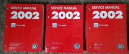 2002 Chevrolet Chevy Corvette Service Shop Repair Workshop Manual Set FA... - $475.19