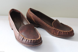 NEW Timberland Earthkeepers Brown Leather Thayer Loafers SlipOn Boat Sho... - $86.00