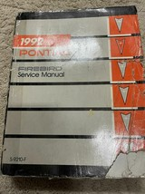 1992 gm pontiac firebird trans am workshop service repair manual oem worn - $14.84