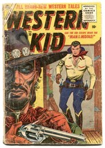 Western Kid #10-1956- Atlas Western comic- Maneely cover FAIR - $27.74