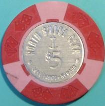 $5 Casino Chip. North Shore Club, Lake Tahoe, NV. V18. - $6.50