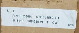 Electric Motors And Specialities UTBEJ1552BJ1 Unit Bearing Motor EC06001 image 7