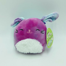 "Squishmallows Ryder Bunny Rabbit Tie Dye 5"" Easter Stuffed Animal Kellytoy NWT - $16.99"