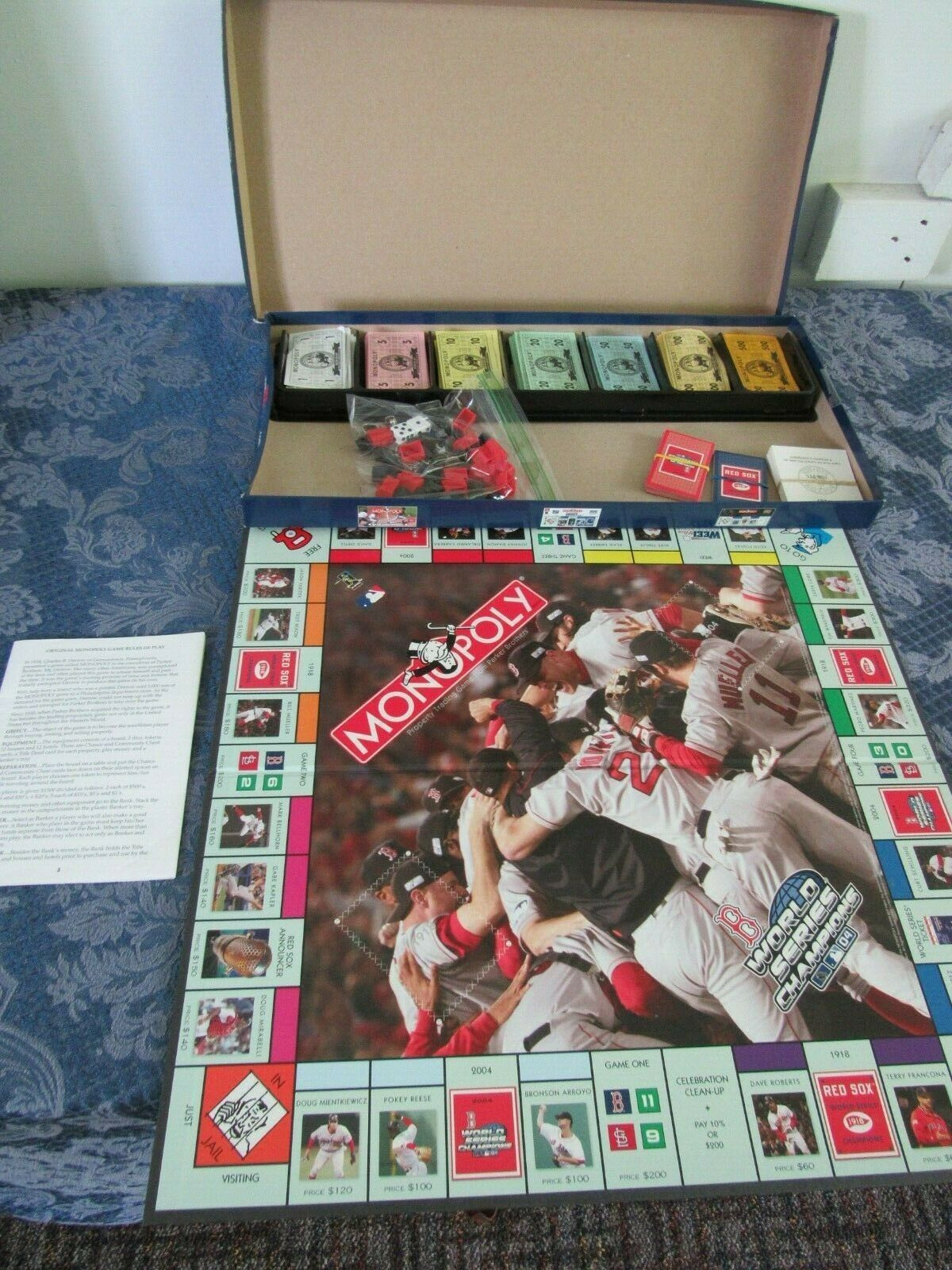 Primary image for Monopoly Red Sox Edition World Series Champions 1918 2004