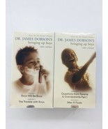 Focus on the Family Bringing Up Boys Video Seminar  6 VHS Tapes Dr. Jame... - $24.99