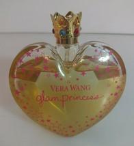 Vera Wang Glam Princess Eau De Toilette Spray WOMEN 3.4 Oz / 100 ml 85% Full - $5.00