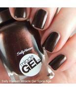 Sally Hansen Miracle Gel .5 Fl. Oz. Spice Age 159 or 560 - $3.95