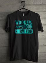 Wooden Spoon Survivor Men's T-Shirt - Custom (1664) - $19.12+