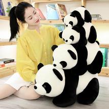 1PC Lovely Baby Big Giant Panda Bear Plush Stuffed Animal Doll Panda Animals Toy image 6