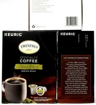 3 Keurig Twinings Specialty Coffee Classic Blend Medium Roast 24Pods BB 5-28-21 - $59.99