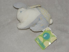 Vintage Gymboree 2003 Garden Patch Small Stuffed Plush Cloth Bunny Rabbit - $29.69