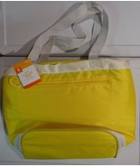 New 12 Can Cooler Tote Insulated Liner BPA Free Yellow for Beach, Campin... - $12.99