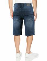 LR Scoop Men's Casual Distressed Slim Fit Jean Denim Shorts w/Defect 32 image 2