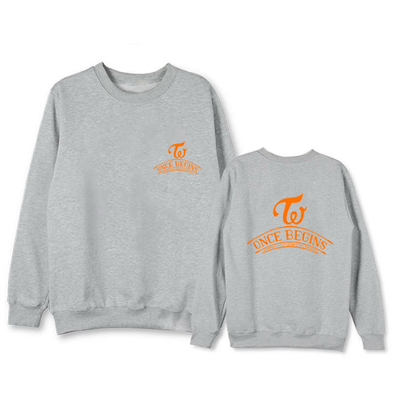KPOP TWICE Sweater LIKEY Sweatershirt One More Time Hoodie Lim Na Yeon Tzuyu Top