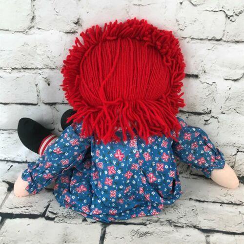 Applause Raggedy Anne Plush Classic Retro Rag Doll Red Yarn Hair Stuffed Toy image 5